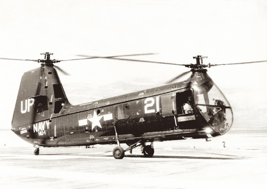 Naam: Foto 704. '130051'. Piasecki HUP-2 Retriever. Redesignated UH-25B in 1962. 1100 breed.jpg Bekeken: 410 Grootte: 71,7 KB