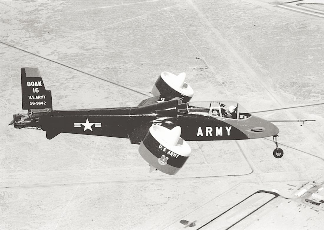 Naam: Foto 709. DOAK VZ-4 (Doak Model 16). 1 prototype gebouwd. 1100 breed.jpg Bekeken: 236 Grootte: 106,2 KB