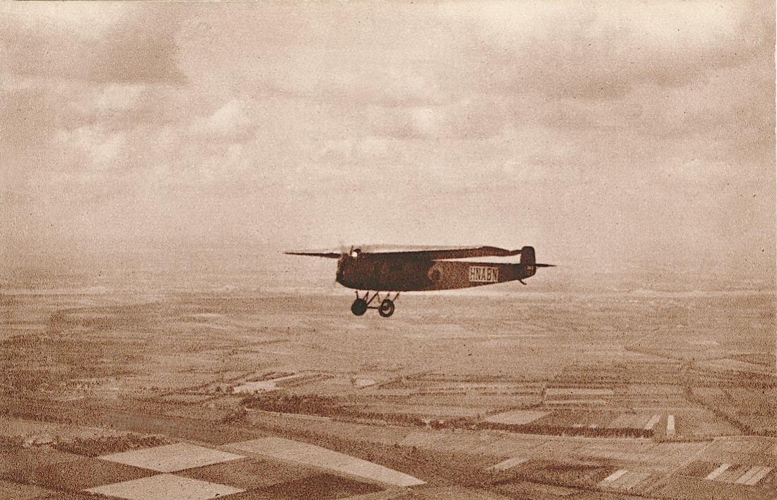 Naam: Kaart 849. H-NABN. Fokker F.III. 1100 breed.jpg Bekeken: 309 Grootte: 158,1 KB