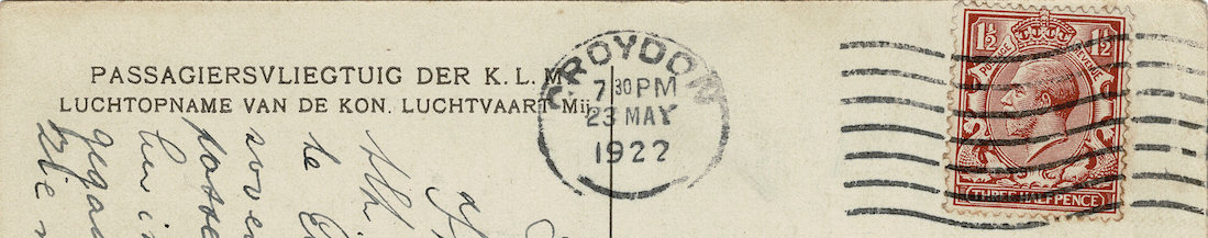 Naam: Kaart 366a. H-NABN. Fokker F.III, uitsnede az.jpg Bekeken: 301 Grootte: 300,7 KB