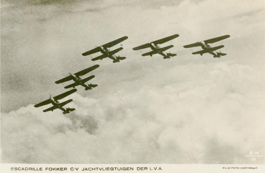 Naam: Kaart 850. Escadrille Fokker C.V jachtvliegtuigen der L.V.A. 1100 breed.jpg Bekeken: 261 Grootte: 69,3 KB