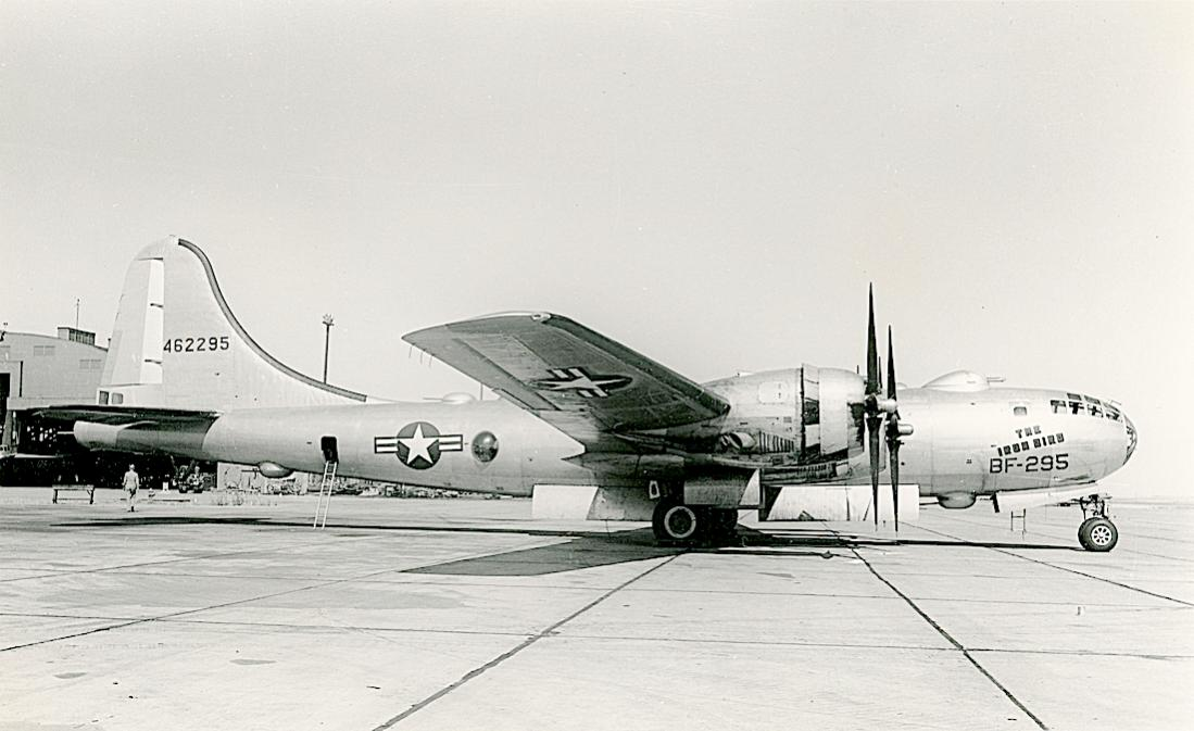 Naam: Foto 798. 44-62295. (MSN 11772). Boeing B-29A-70-BN Superfortress. Delivered to USAAF 24Apr46.  .jpg Bekeken: 139 Grootte: 82,6 KB