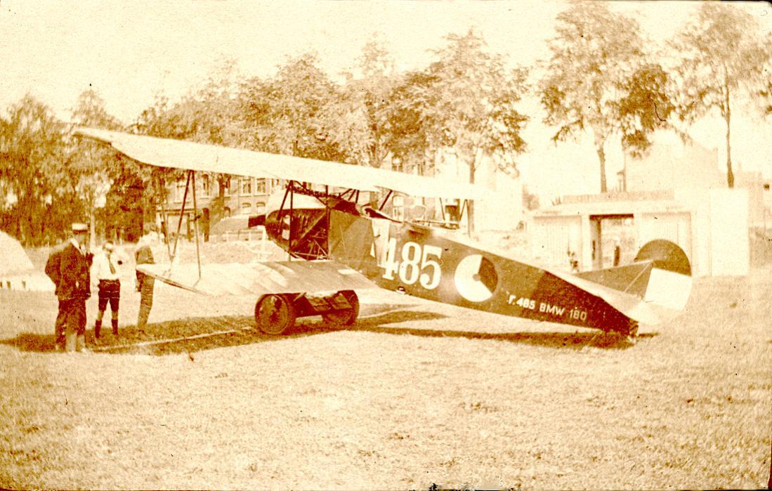 Naam: Foto 138. '485'. Fokker C.I kopie 2. 1100 breed.jpg Bekeken: 198 Grootte: 148,2 KB
