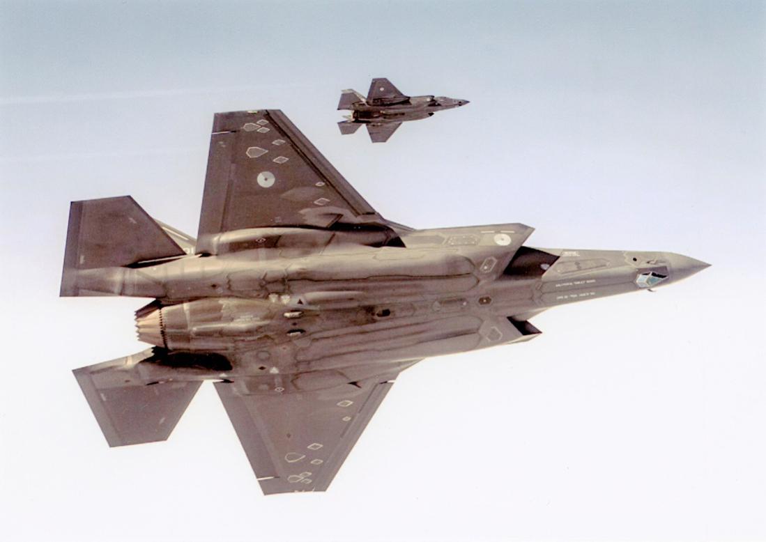 Naam: Foto 272. Lockheed Martin F-35A Lightning II 1100 breed.jpg Bekeken: 60 Grootte: 52,6 KB
