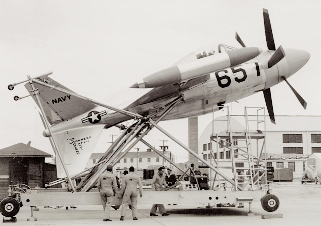 Naam: Foto 805. Lockheed XFV-I. 1100 breed.jpg Bekeken: 113 Grootte: 95,1 KB