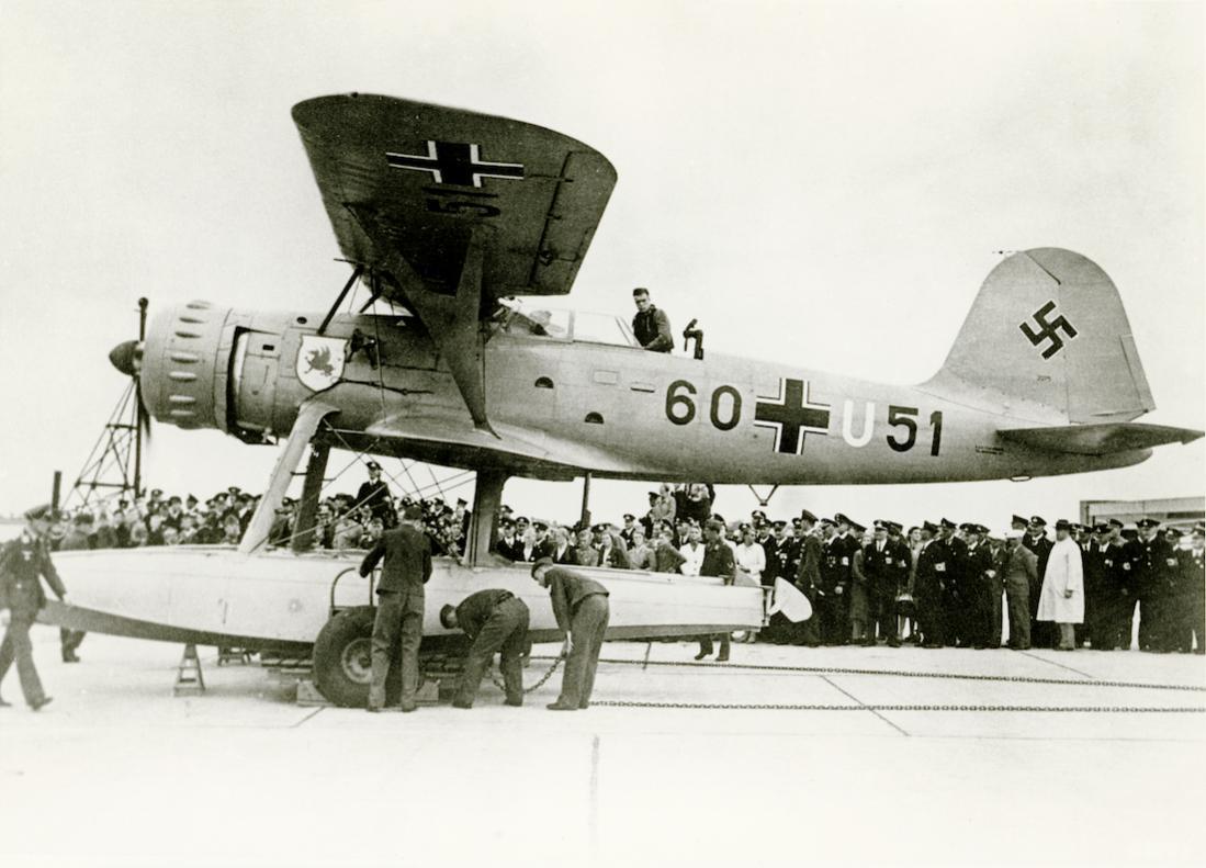 Naam: Foto 535. Heinkel He-114. (Werknr 2275). 1100 breed.jpg Bekeken: 75 Grootte: 91,8 KB