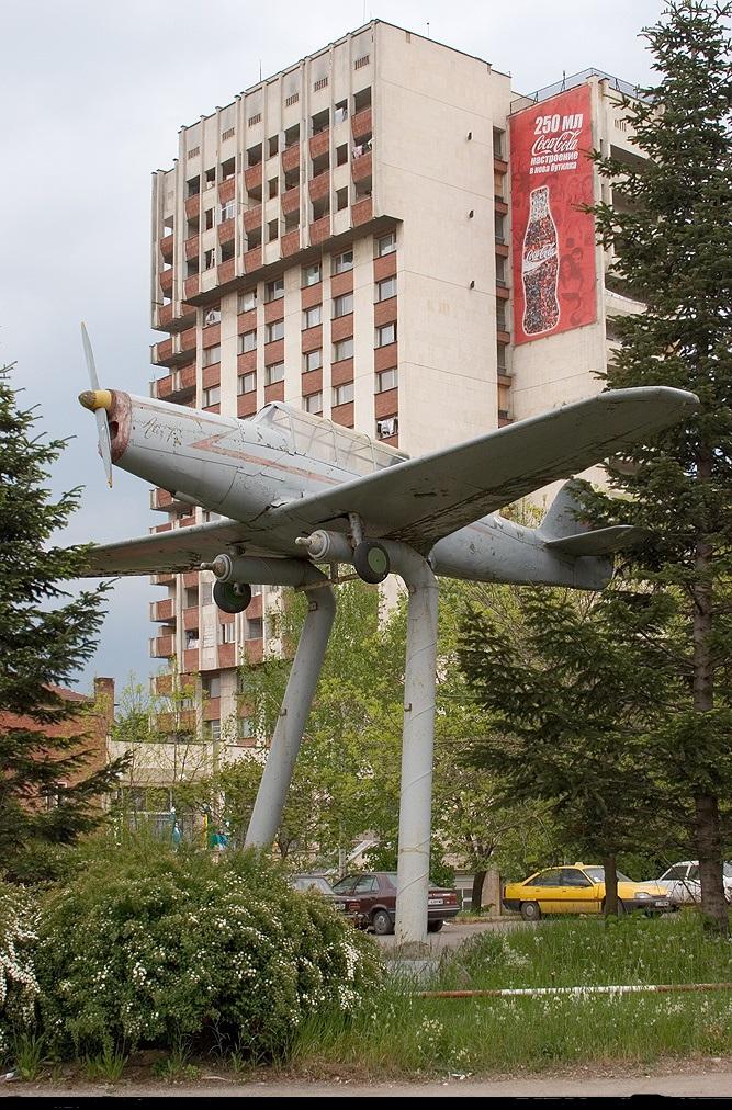 Naam: Lazarov LAZ-7 - Sofia , Bulgaria.jpg Bekeken: 242 Grootte: 375,5 KB