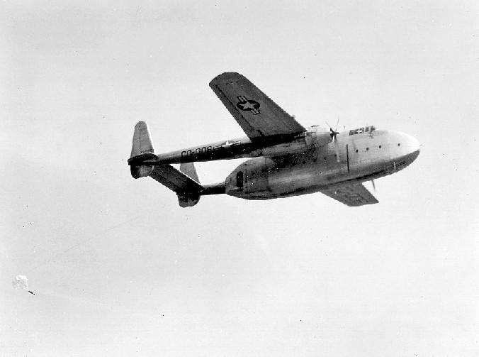 Naam: Fairchild C-82 Packet (1).jpg Bekeken: 3870 Grootte: 54,5 KB