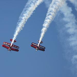 Luchtvaartfoto's als fotoprint of op canvas, dibond of hout