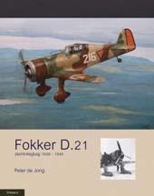 Boek Fokker D.21 door Peter de Jong